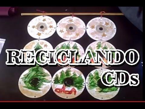 Manualidades para ni os reciclando cds youtube - Manualidades con cds para ninos ...