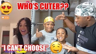 Download Which One of My Little Brothers Can Get More Girls | Monkey App Mp3 and Videos