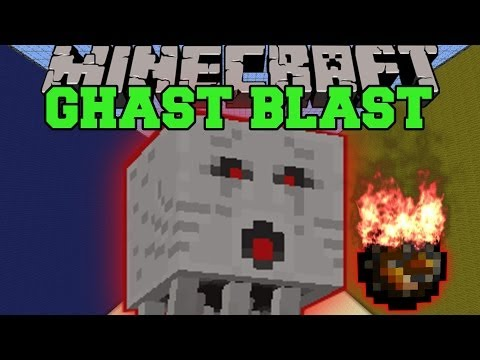 Minecraft: GHAST BLAST (DODGE FIREBALLS AND TNT!) Mini-Game