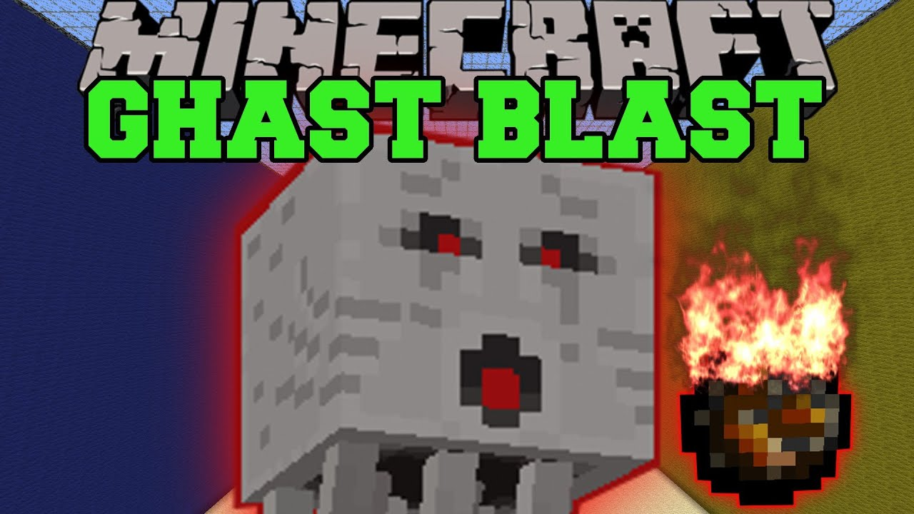 Minecraft Ghast Blast Dodge Fireballs And Tnt Mini