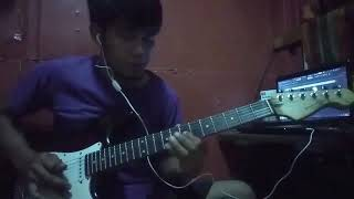 Atmosfera - original sabahan intrumental guitar cover by tatadabee