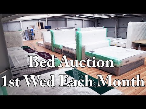 Brand New Bed Auction - Bangor Auctions Northern Ireland