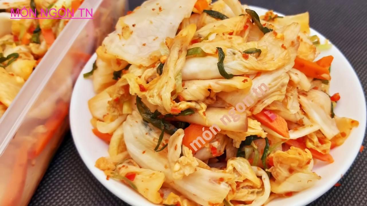 Cách làm Kim Chi Cải Thảo Việt Nam ( Dưa Chua Cải Thảo ) chay mặn đều dùng được ngon và đơn giản