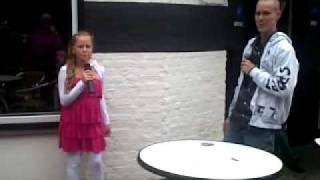 zangeres sharona & volkszanger dennis - Als hij s