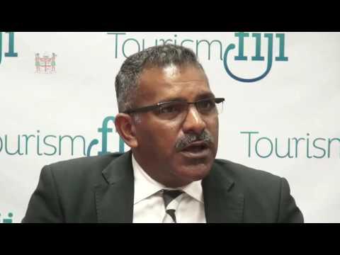 Tourism Minister Hon. Faiyaz Siddiq Koya announces new Tourism Fiji CEO.