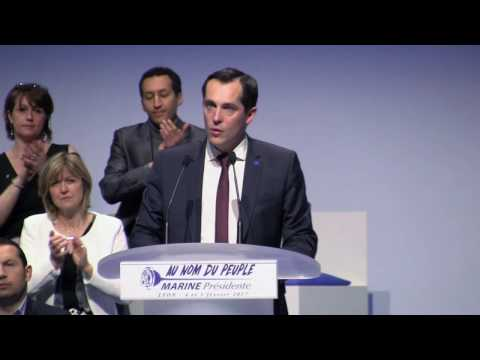 Nicolas Bay : Défendre l'unité de la France et son identité nationale.