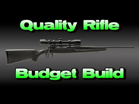 High Quality Rifle For Under $500 (Custom Savage Axis)