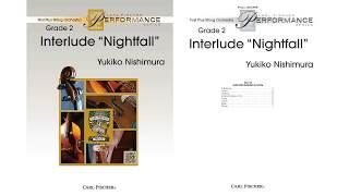 "Interlude ""Nightfall"" (FAS110) by Yukiko Nishimura"