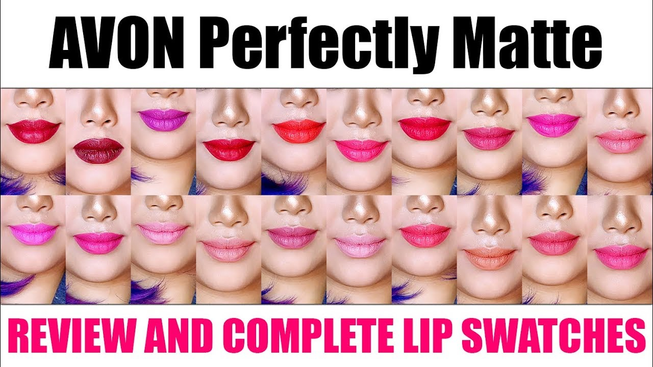 Avon True Color Perfectly Matte Lipstick Review And Swatches Bing