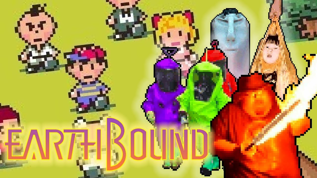 Cursed Images But It S An Actual Earthbound Hack Part 1 By Bigsharkz