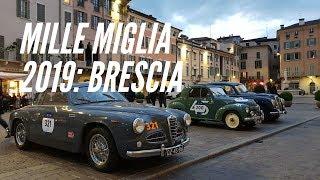 Mille Miglia 2019: Previa y partida desde Brescia, Italia
