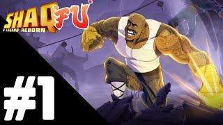 Shaq Fu A Legend Reborn Walkthrough Gameplay Part 1 – Stage 1: Hunglow PS4 Pro – No Commentary