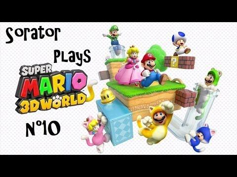 Super Mario 3D World - Episode 10 : Monde Champignon Partie 1 - Gameplay HD (French)