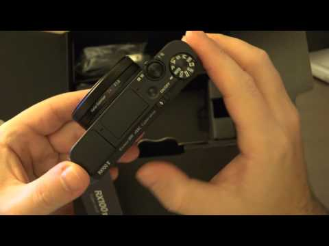 Sony RX100V Unboxing