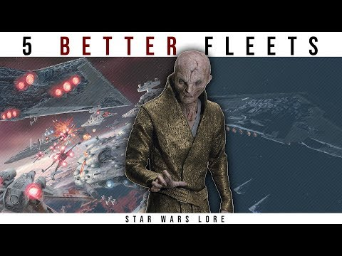 5 Fleets that Could Destroy Snoke's Armada | Star Wars Legends Lore