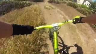 Chest Mount Downhill Test GoPro HD