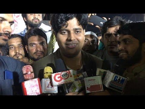Imran Pratabgarhi Gulbarga Visit Interview