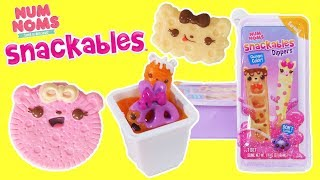 Num Noms Snackables Dippers With Slime Dip!