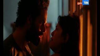 """مسلسل أرض النعام - مشهد محاولة اغتصاب فتاة على يد """" صديقها """" واجبارها على خلع ملابسها وزينة تصعقه"""