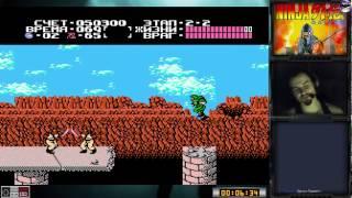 Ninja Ryukenden   Ninja Gaiden прохождение 100%   Игра на (Dendy, Nes, Famicom, 8 bit) Cтрим [RUS]