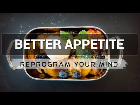 Better Appetite affirmations mp3 music audio - Law of attraction - Hypnosis - Subliminal