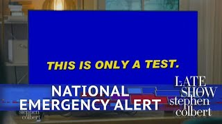 Trump's National Emergency Broadcasting System