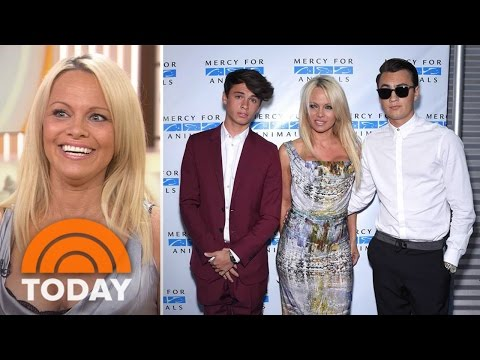 Pamela Anderson: My Teens Are Gentlemen 'Despite The Gene Pool' | TODAY