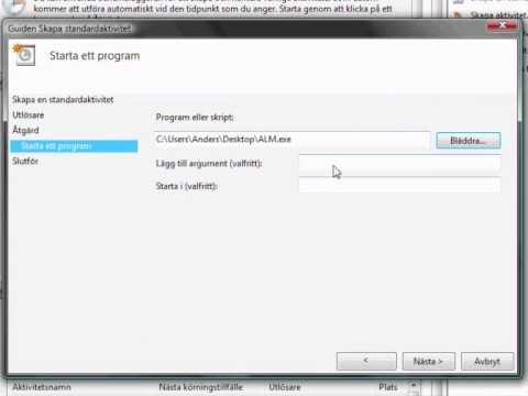 Auto starting programs in Vista or Windows 7 using the Windows Task Scheduler.