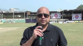 Mr Srinivas interview at Dr. APJ Abdul Kalam Inter District Telangana Champions Cup 2015