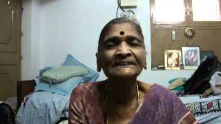 75 year old Indian lady  Mani Chekka Singing - Devotional Song 2