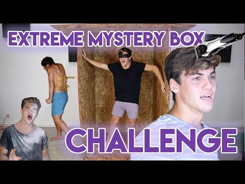 Thumbnail: EXTREME MYSTERY BOX CHALLENGE!