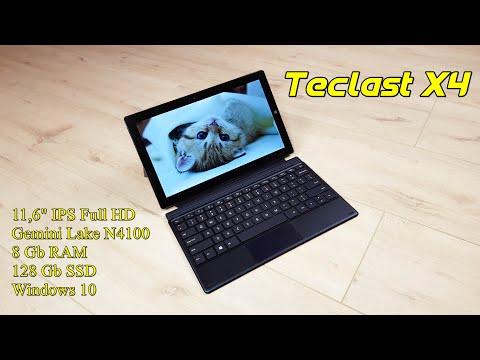 Teclast X4: обзор мощного планшетного пк на Gemini Lake с подключаемой клавиатурой, 8GB RAM и SSD