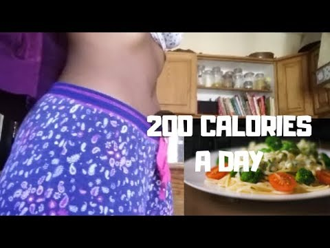 200 calories a day for a week challenge (never do this) | Dionne Eckstein