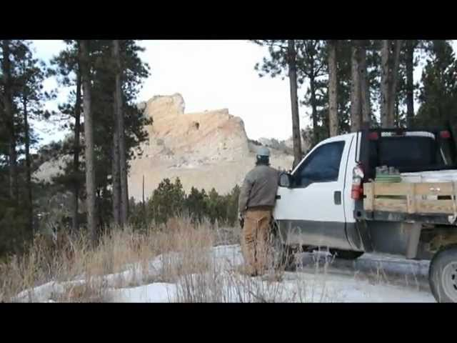 Double blasts at Crazy Horse Memorial