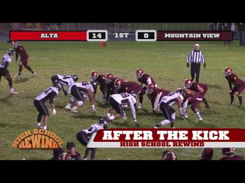 High School Rewind - Alta @ Mountain View (Football) {9-23-16}