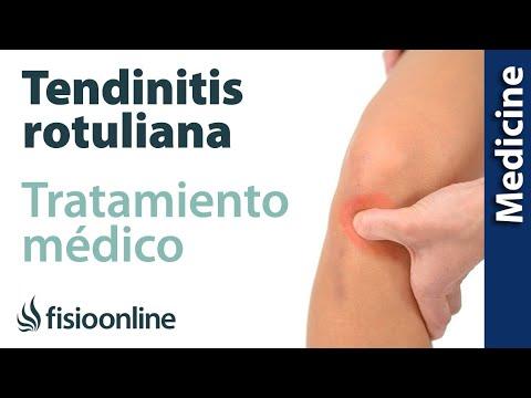 Tendinitis rotuliana o de rodilla. Diagnóstico y tratamiento de fisioterapia, médico y quirúrgico