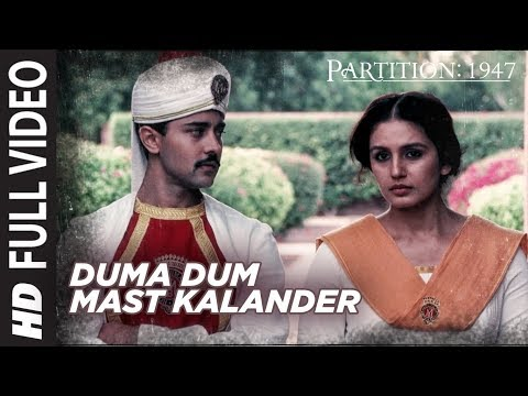 Duma Dum Mast Kalander Full Video Song | Partition 1947 | Huma Qureshi, Om Puri