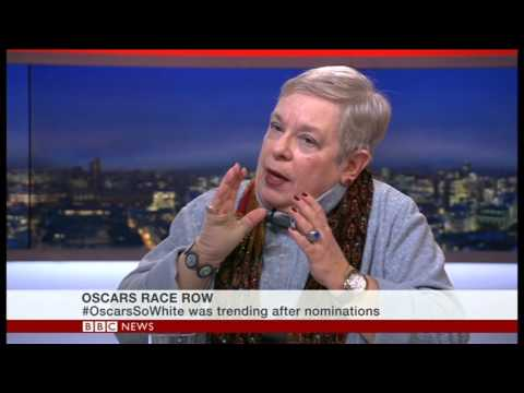 Carol Gould talking about the Oscars boycott with me