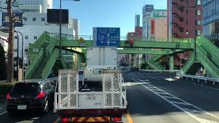 大型トラック車載 埼玉県熊谷市 国道140号から国道17号   日野プロフィア