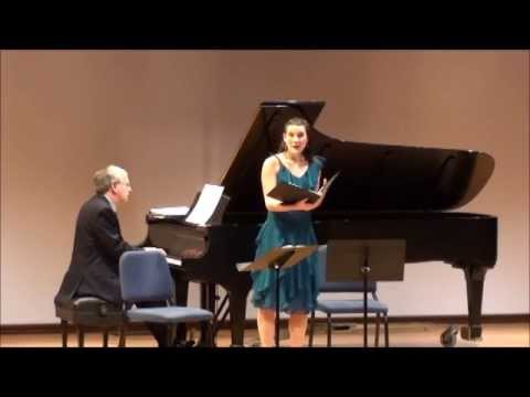 SaintSaëns  Shantelle Przybylo, soprano, Mimi Stillman, flute, Charles Abramovic, piano