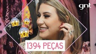 Tour pelo closet e makes da Niina Secrets | Desengaveta | Fernanda Paes Leme