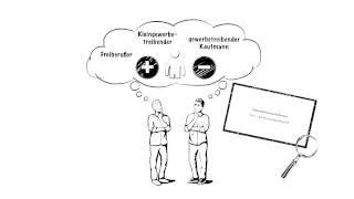 Einzelunternehmung: Unternehmensrechtsformen erklärt von explainity (Teil 1)
