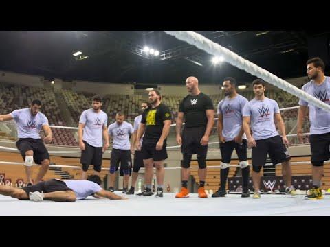 WWE tryout kicks into high gear in Saudi Arabia