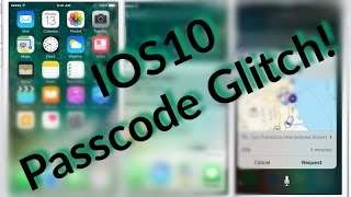 iOS10 PASSCODE GLITCH + 2 NEW iOS Bugs (no fake!)