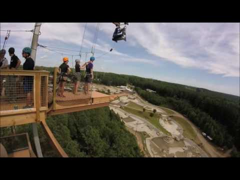 Jumps And Zip @ US National White Water Center