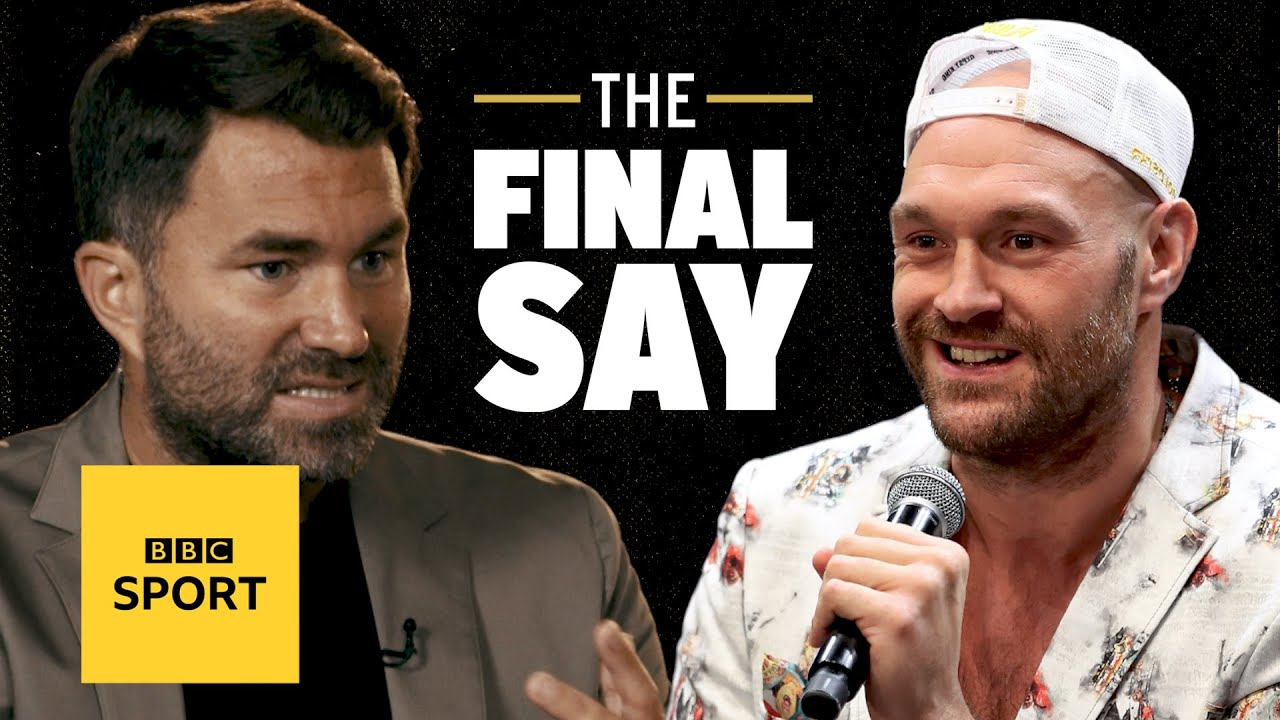'I had ZERO support from Fury's team' Eddie Hearn on Joshua v Fury | The Final Say Debate