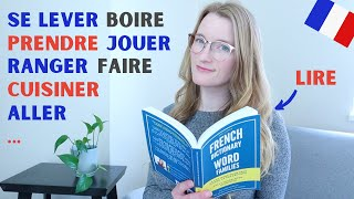 20 French Verbs To Talk About Your Daily Routine | French lesson