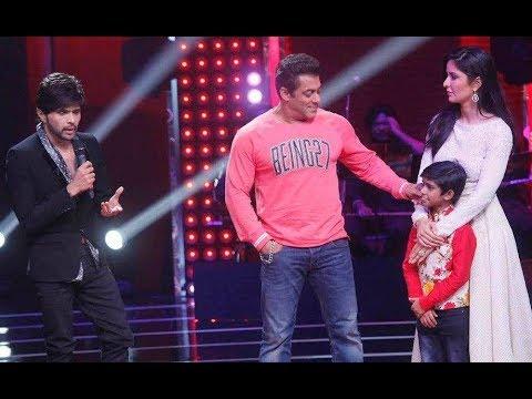 Salman Khan And Katrina Kaif On The Voice Kids India - Tiger Zinda Hai Promotion