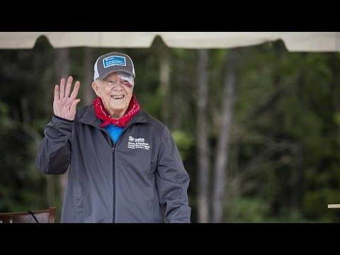 Jimmy Carter internado devido a hemorragia cerebral