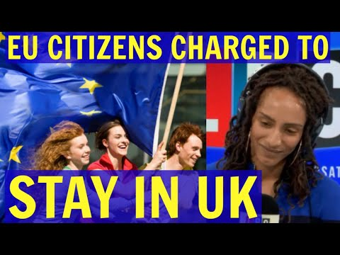 Heated DEBATE Over EU Citizens Charged £65 to STAY in the UK - LBC